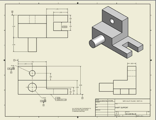 Make construction drawings